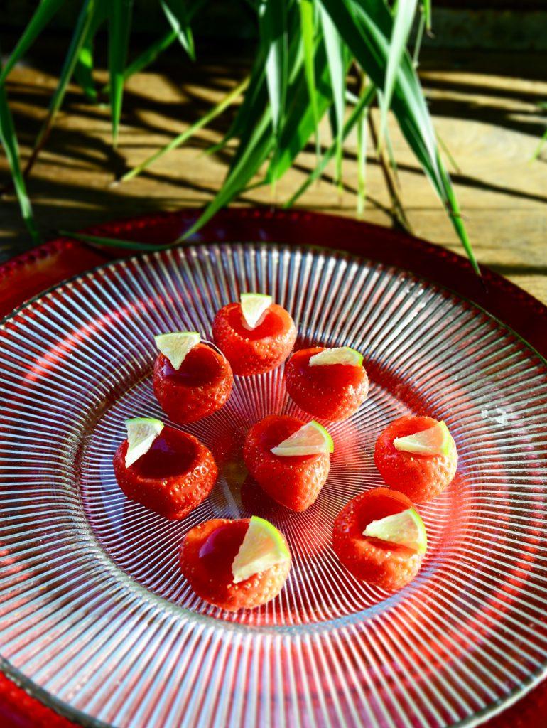 Daïquiri gélifié fraise