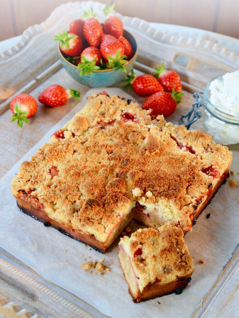 Gâteau autrichien aux fraises